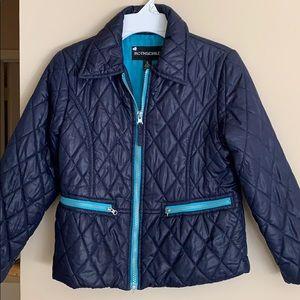 Rothschild girls quilted puffer jacket